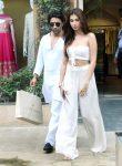 Tara with Aadar Jain