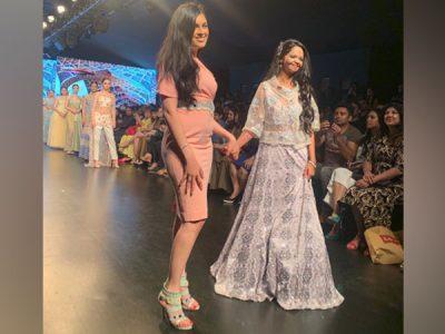 Laxmi Agarwal Ramp walk
