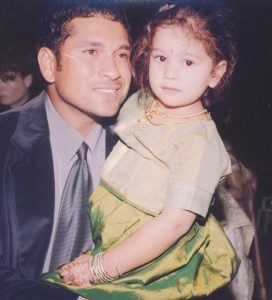 sara Tendulkar childhood pic