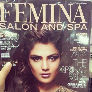 Rhea chakraborty fatured on FEMINA