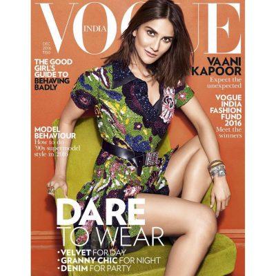 Vaani Kapoor on Vogue