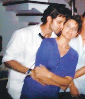 Kangana Ranaut with Hritik Roshan