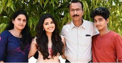 Parameswaran's family