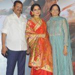 Kangana Ranaut with her Parents