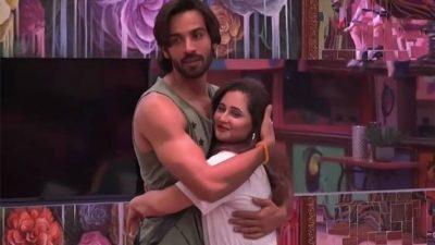 Rashmi Desai with Arhaan Khan