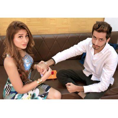 Mahira Sharma with Brother