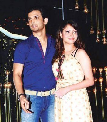 Sushant Singh Rajput with Ankita Lokhande