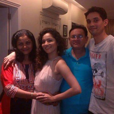 Ankita Lokhande Family Photo