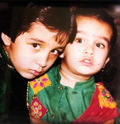 Shraddha Kapoor Childhood Photo