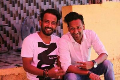 Dharmesh Yelande with Brother Kalpesh Yelande