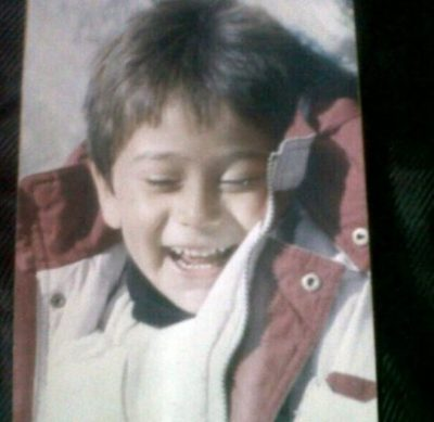 Tiger Shroff Childhood Photo