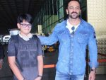 Rohit Shetty with Son Ishaan