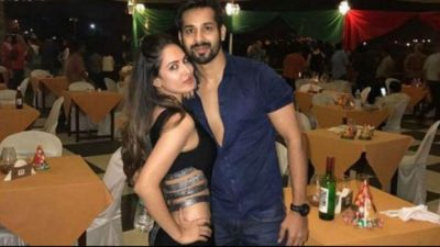 Pooja Bose with Kunal Verma