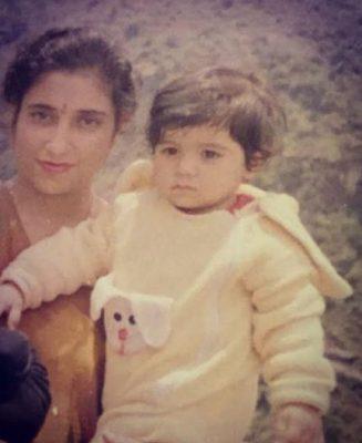 Indeep Bakshi Childhood Photo