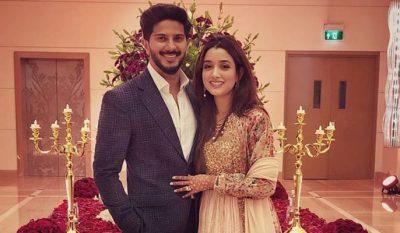 Dulquer Salmaan wife Amal Sufiya