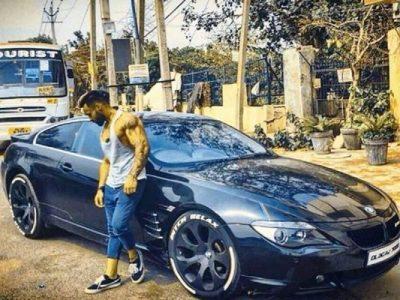 Indeep Bakshi with His Car