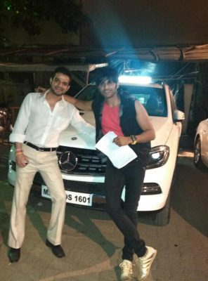 Karan Patel With new Car