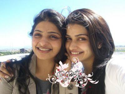 Prachi Desai With Her Sister