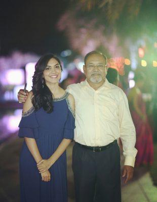 Ritu Varma With Her Father
