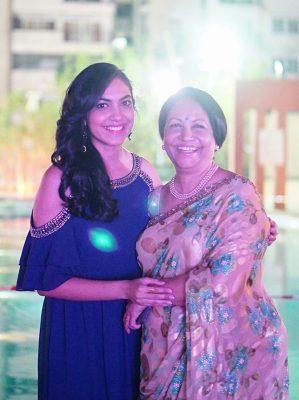 Ritu Varma With Her Mother