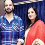 Rohit Shetty with Wife