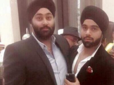 Indeep Bakshi With His Brother