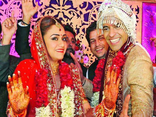 Amruta Khanvilker With Her Husband Himmanshoo A. Malhotra