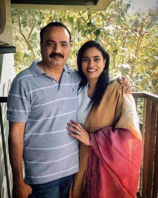 Namitha Pramod Parents