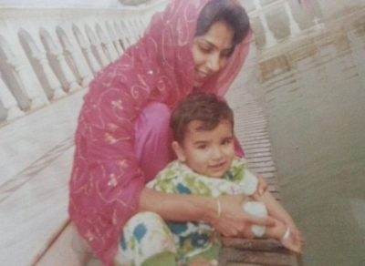 Paras Chhabra In Childhood