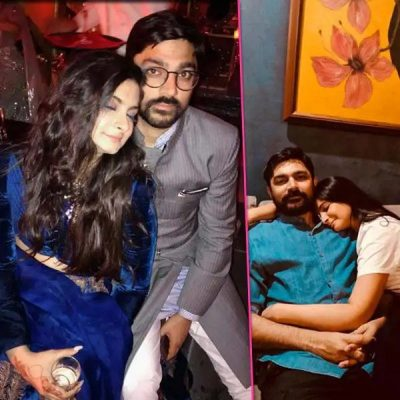 Rhea Kapoor With Karan Boolani