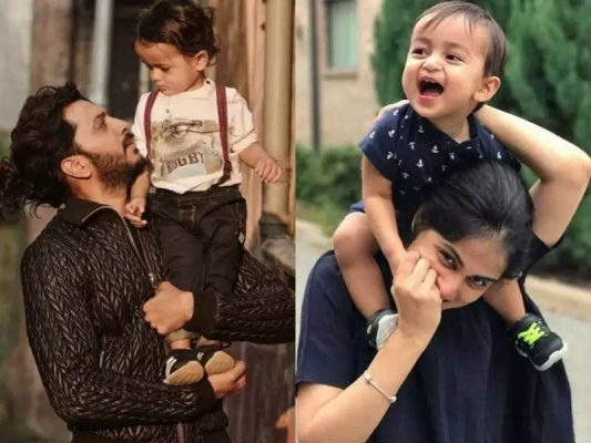 Ritesh Deshmukh With His Children
