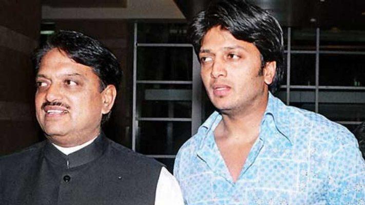 Ritesh Deshmukh With His Father