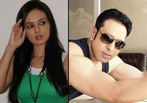 Sana Khan and Ismail Khan