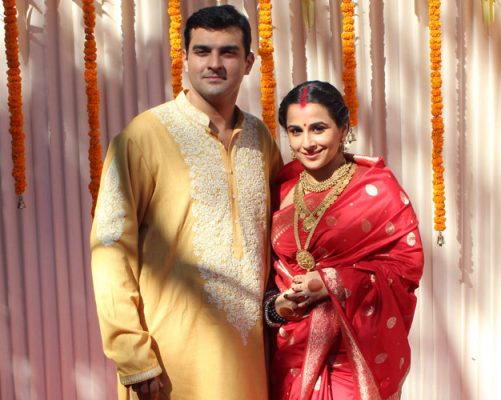 Vidya Balan And siddharth Roy Kapur Marriage