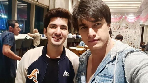Mohsin Khan With His Brother Sajjad Khan
