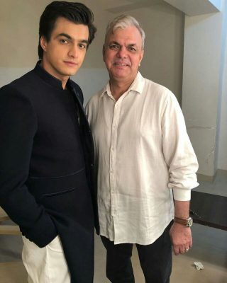 Mohsin Khan With His father Abdul Waheed Khan
