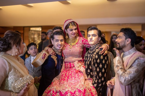 Mohsin Khan With His Sister Zeba Ahmed