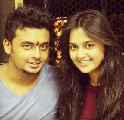 Tejasswi Prakash With Her Brother