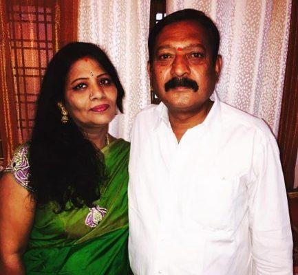 Akhil Sarthak Father and Mother
