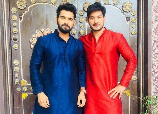 Akhil Sarthak With His Brother