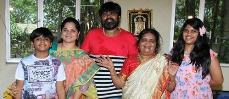 Amma Rajasekhar and His Family