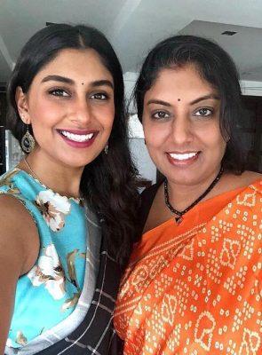 Kira Narayanan With Her Mother Jo Narayanan
