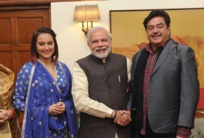Sonakshi-Sinha-Narendra-Modi-and-Shatrughan-Sinha