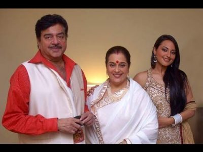 Sonakshi Sinha With Her Parents