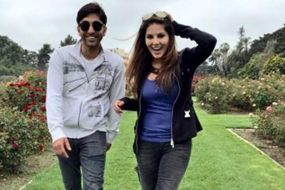 Sunny-Leone-With-Her-Brother-Sundeep-Vohra