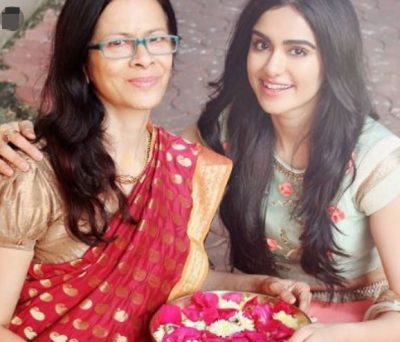 Adah Sharma With Her Mother Sheila Sharma