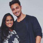 Aayush Sharma With Arpita Khan